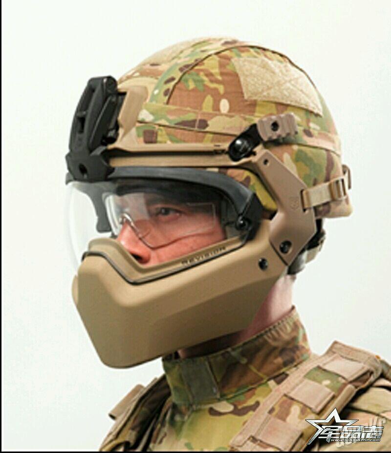 消息通报:丹麦军队再采购3千顶Revision 响尾蛇头盔系统