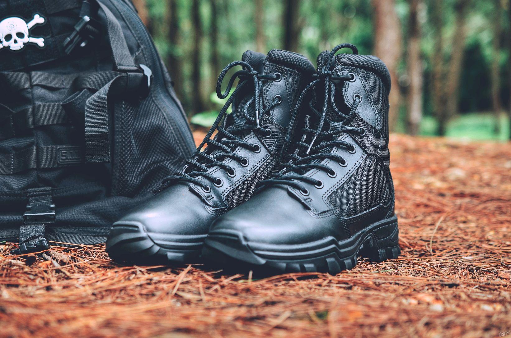感觉很好,5.11  FAST-TAC 6 轻量化战术靴 。