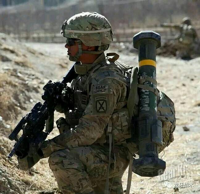 美军装备的作战服的三款迷彩涂装对比测评